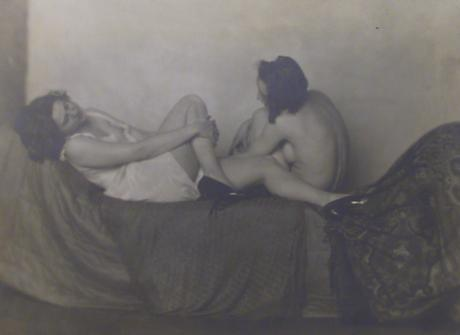 From Les Amies, c. 1924 Gelatin silver print, printed c. 1924 5 3/4 x 8 inches