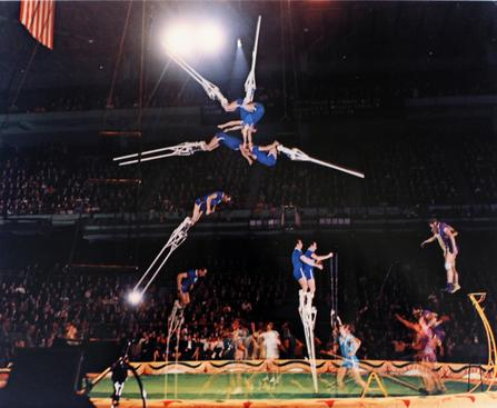Moscow Circus Performers, 1938-1973 Dye transfer print 16 x 20 inches