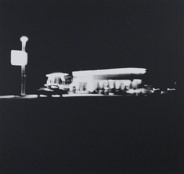 Untitled from Gasoline Stations, 1962 Gelatin silver print, printed c. 1989 19 7/16 x 22 15/16 inches