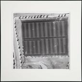 Untitled, from Parking Lots, 1967-69 Gelatin silver print mounted to board 15 x 15 inches