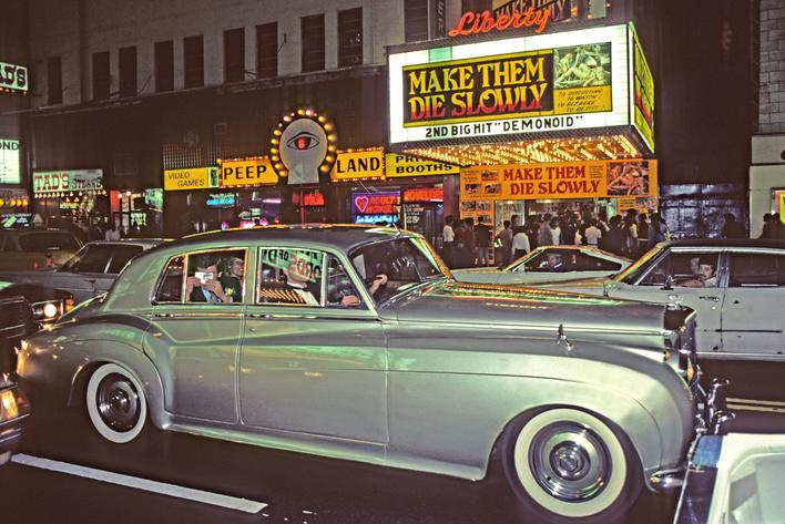 42nd Street IV, 1983 Archival inkjet print 13 x 19 inches