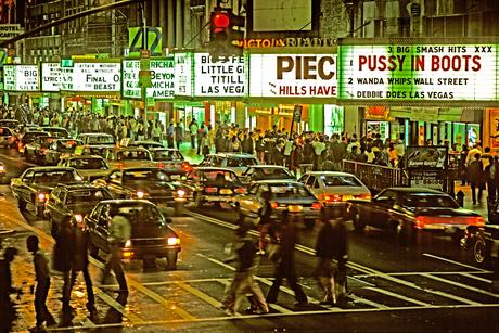 42nd Street II, 1983 Archival inkjet print 13 x 19 inches