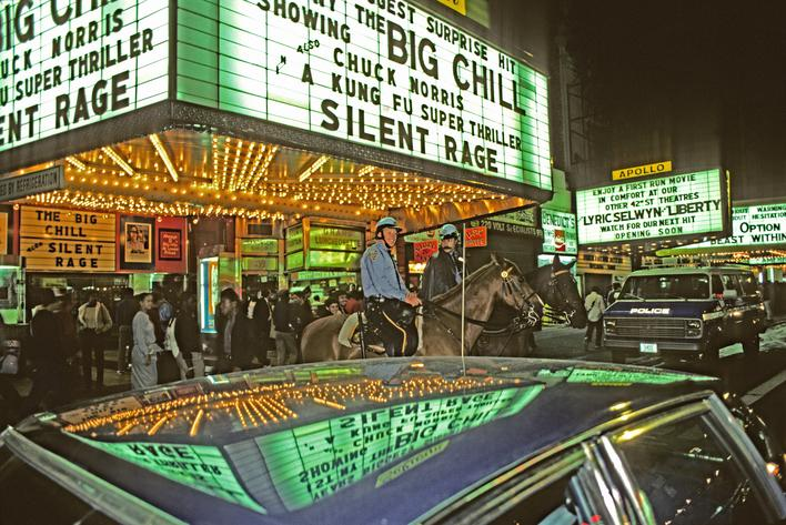 42nd Street III, 1983 Archival inkjet print 13 x 19 inches