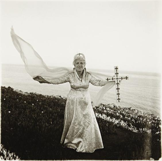 Diane Arbus Bishop by the Sea, Santa Barbara, California, 1964 Gelatin silver print, printed later 20 x 16 inches