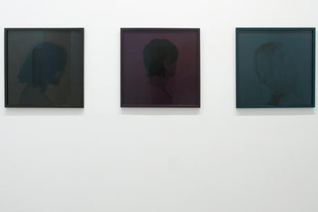 Trine Sondergaard  Monochrome Portraits, 2009    Pigment prints. 23 3/16 x 23 3/16 inches each