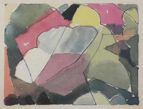 Arthur Dove Untitled (5-30-42), 1942    Watercolor on paper. 3 x 4 inches