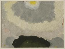 Arthur Dove Untitled (8-14-43), 1943    Gouache on paper. 3 x 4 inches