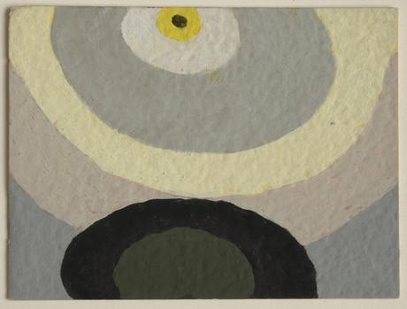 Arthur Dove Untitled (8-16-43), 1943    Gouache on paper. 3 x 4 inches