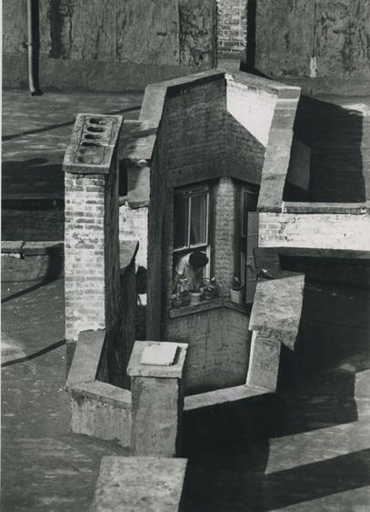 Three September Windows, 1970 Gelatin silver print, printed c. 1970. 10 x 8 inches