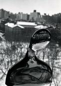 Glass Bust on Window, New York City, February 7, 1979 Gelatin silver print, printed c.1979 9 3/4 x 7 inches