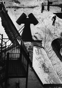 MacDougal Alley, February 28, 1978 Gelatin silver print, printed c. 1978. 13 5/8 x 9 7/8 inches