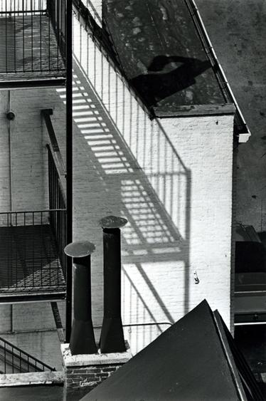 Chimney, MacDougal Alley, April 1, 1965, 1965 Gelatin silver print, printed c. 1965