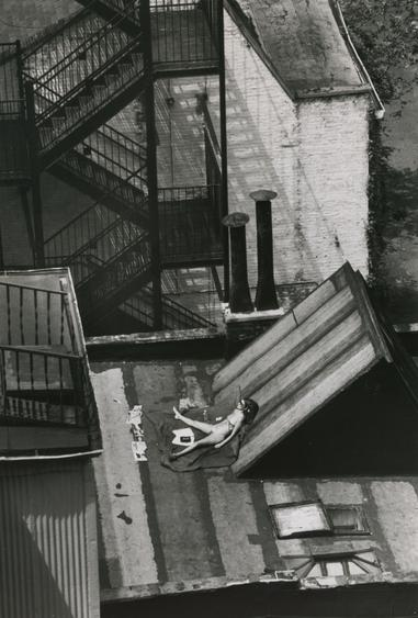Sunny Day, New York, August 12, 1978 Gelatin silver print, printed c. 1978. 10 x 8 inches