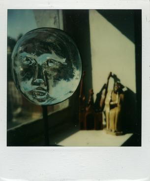 May 1, 1979 SX-70 Polaroid 4 1/4 x 3 1/2 inches