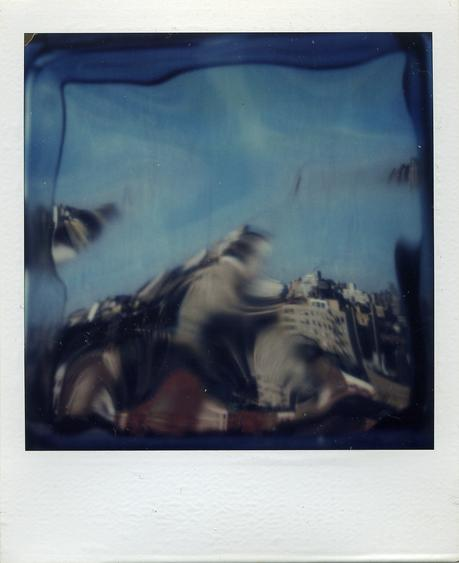 January 8, 1980 SX-70 Polaroid 4 1/4 x 3 1/2 inches