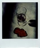 November 5, 1975 SX-70 Polaroid 4 1/4 x 3 1/2 inches