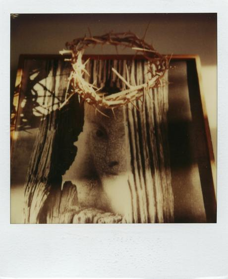December 22, 1980 SX-70 Polaroid 4 1/4 x 3 1/2 inches