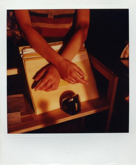 June 8, 1983 SX-70 Polaroid 4 1/4 x 3 1/2 inches