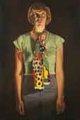 Cindy Cresswell (from The Lives of Some Women), 1976-1977, Oil on canvas, 108 x 72 in. / 9 x 6 ft. / 2.7 x 1.8 m