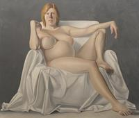 Brenna Gordon (from The Lives of Some Women), 1984, Oil on canvas, 72 x 84 in. / 6 x 7 ft / 7.8 x 2.1 m