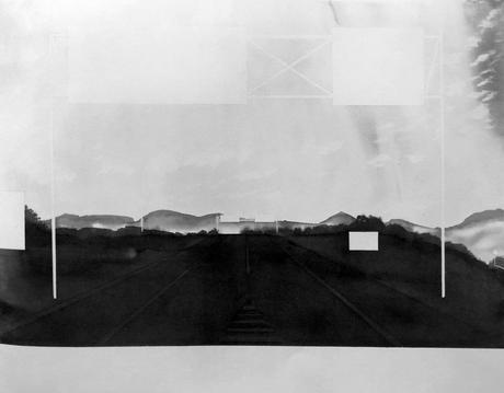 Approaching Springfield, Massachusetts (from 100 Views Along the Road), 1983 Large-format watercolor on paper 44 x 57 inches