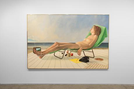 Casey Key (from The Lives of Some Women), 1983 Oil on canvas 72 x 108 inches