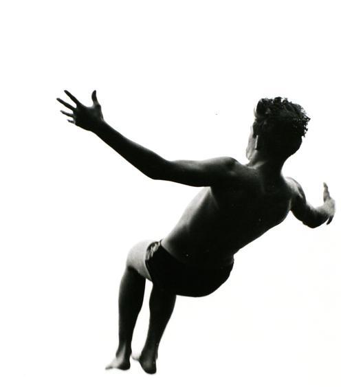 Aaron Siskind  Pleasures and Terrors of Levitation #477, 1954 Gelatin silver print, printed c. 1954 14 x 11 in.