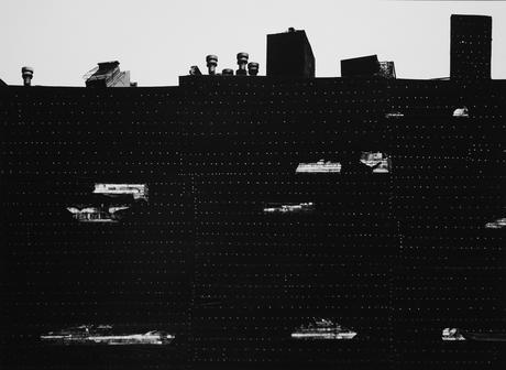 Aaron Siskind New York, 1951     Gelatin silver print, printed c. 1980. 20 x 24 inches