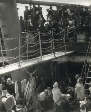 Alfred Stieglitz The Steerage, 1907 Photogravure on Japan Tissue 8 1/4 x 6 1/4 inches