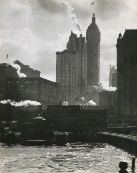 Alfred Stieglitz The City of Ambition, 1910 Gelatin silver print 4 3/16 x 3 3/8 inches