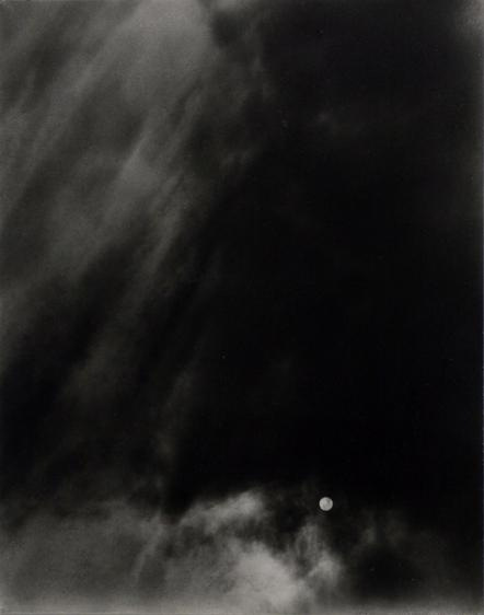 Alfred Stieglitz  Equivalent, c. 1925-1927 Gelatin silver contact print mounted to board, printed c. 1927. 4 5/8 x 3 5/8 inches