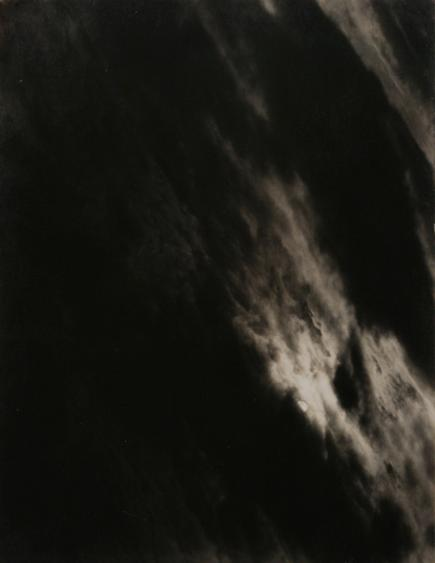 Alfred Stieglitz Equivalent, 1927 Gelatin silver print mounted to board, printed c. 1927. 4 3/4 x 3 5/8 inches