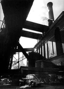 Con Edison Building, New York, 1938 Gelatin silver print mounted to board. 12 1/2 x 9 1/4 inches