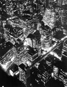 Nightview, New York, 1932 Gelatin silver print mounted to board. 13 x 10 1/2 inches