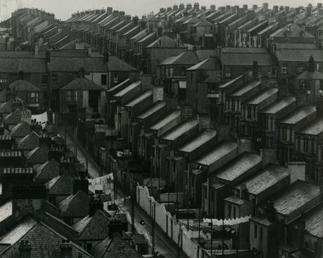 Rainswept Roofs, London, c. 1932 Ferrotyped gelatin silver print, printed c. 1950s 7 3/4 x 9 3/4 inches