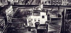 Untitled, c. 1932 Charcoal on paper 7 1/2 x 15 inches