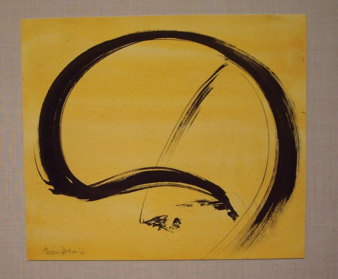 Untitled, 1961 Ink and watercolor on paper mounted to board 9 1/2 x 11 inches