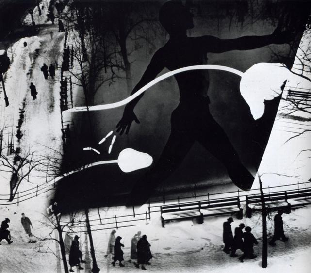 Spring on Madison Square, 1938 Gelatin silver print, printed later 16 x 20 inches