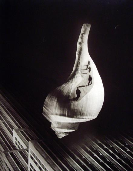 City Shell, 1938 Gelatin silver print. 19 1/2 x 15 inches