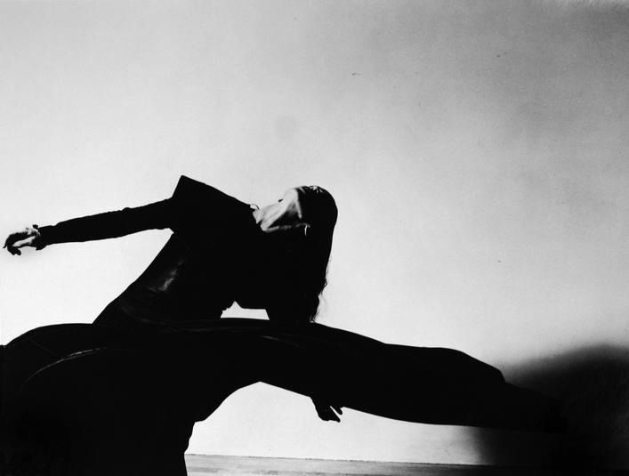 "Martha Graham, ""War Theme"", 1941 Gelatin silver exhibition print, printed c. 1941 16 x 25 1/2 inches"