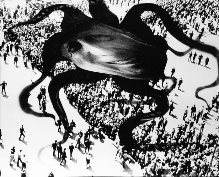 Hearst Over the People, 1939 Photomontage mounted to board, printed 1939 7 1/8 x 9 inches