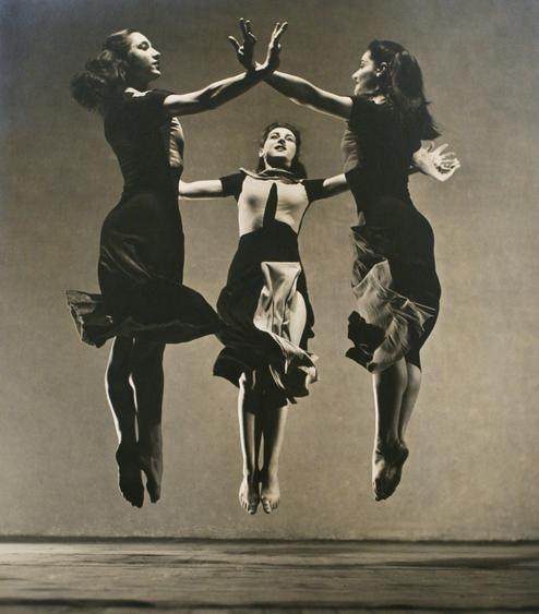 Martha Graham Group - Celebration, 1934 Gelatin silver print mounted to board, printed c. 1934. 19 5/8 x 15 inches