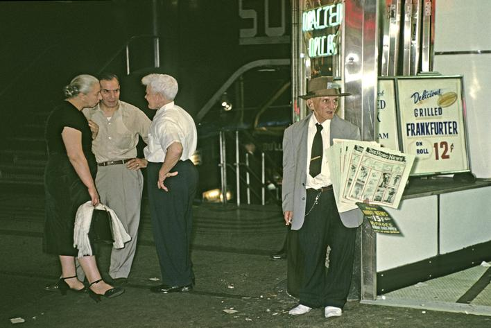 Broadway II, 1954 Archival inkjet print 13 x 19 inches