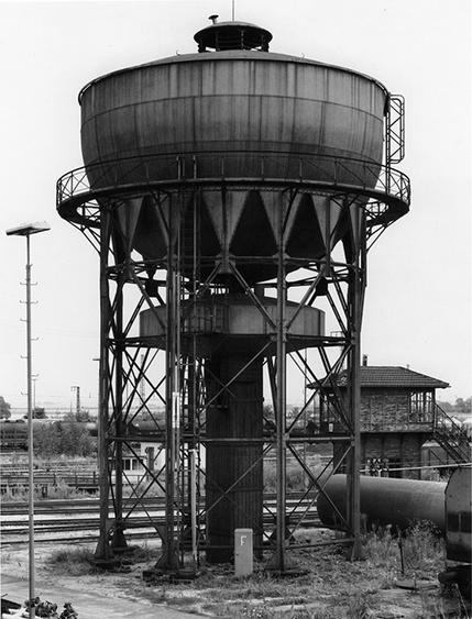 Bernd and Hilla Becher, Water Tower, Mannheim, Germany