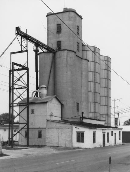 Bernd and Hilla Becher, Grain Elevator, Kankakee, Illinois, USA