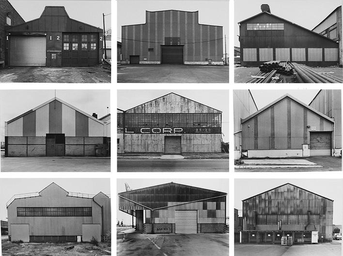 Bernd and Hilla Becher, Industrial Facades