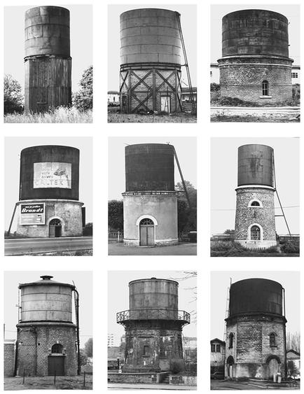 Bernd and Hilla Becher, Water Towers
