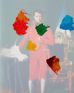 Colors of Napoleon, 2010 Archival inkjet print 25 x 20 inches