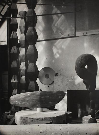 View of the Studio, c. 1933. Gelatin silver print, printed c. 1933 15 11/16 x 11 11/16 in.