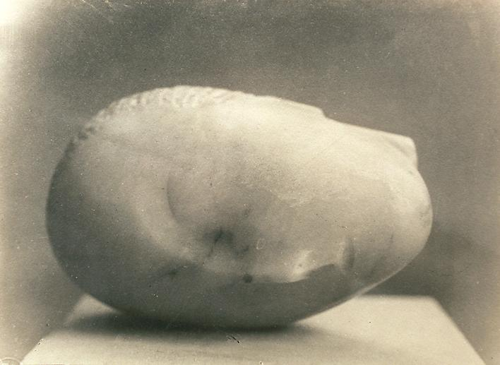 Sleeping Muse, c. 1912.  Gelatin silver print, printed c. 1912 6 3/4 x 9 1/2 inches.